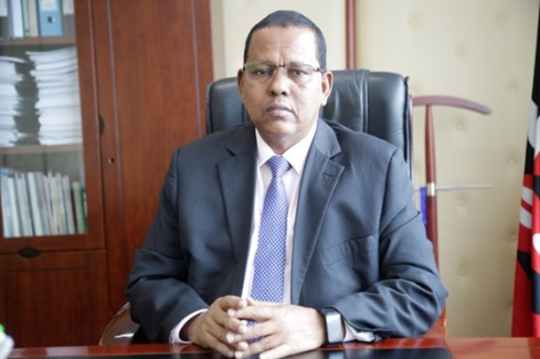 Mr. Mohamed Moulid Shurie, HSC - WRA CEO and ex officio member of the Board.