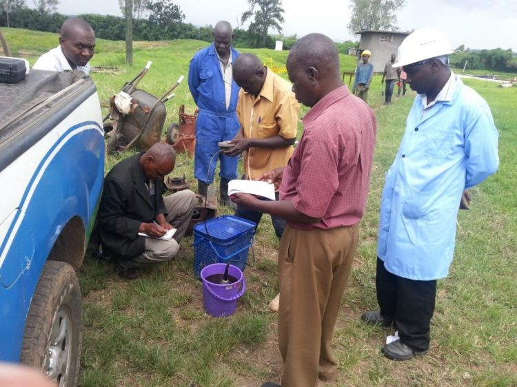Water Quality Analysis Field